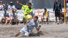 Lazio Beach Soccer vs GoBeachSoccerPro 2019 Sand Soccer Kick
