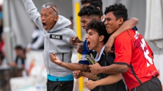Strontive Japan Team Celebrate Sand Soccer 2019
