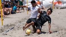 Strontive Japan vs Crown Heights Sand Soccer 2019