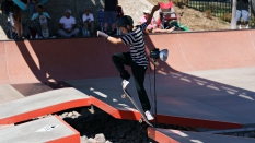 Ollie Jump Skateboarding Boardr AM 2018