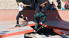Ollie Skateboard Trick Boardr AM