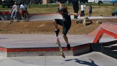 Ollie Skateboard Trick Boardr PRO AM 2018