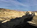 Borax Works, Death Valley, near Furnace Creek, panorama photo.