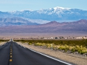 The road out of Death Valley