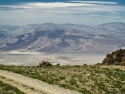 Road to Cerro Gordo, heading east, looking out over the Saline Valley