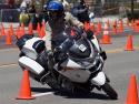 californiahighwaypatrolridingharleydavidsonmotorcycle