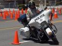 lasvegasmotorcyclepolicemanridingharleydavidson