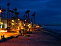 Oceanside California beach sunset