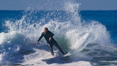 round house cutback surfing