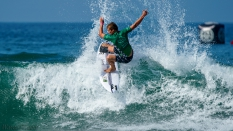 Finn McGill surfing 2018