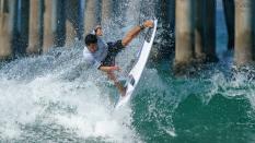Flavio Nakagima Brazil surfing US Open 2018