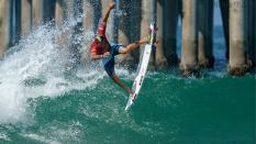 Italo Ferreria getting air surfing 2018