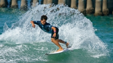 Keanu Asing  cutback surfing US Open 2018