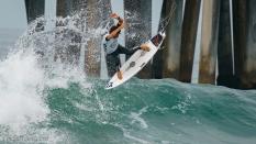 Yago Dora from Brazil getting air surfing 2019