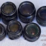 50mm lens test: Super Takumar, Canon FDn, Konica Hexanon AR, Pentax SMC Takumar, on the Sony a7R